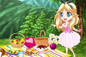 小公主去野餐