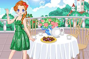 春天里的午后红茶