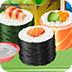 可口寿司烹调和服务