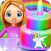 彩虹独角兽蛋糕