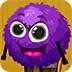 救援紫色小毛球