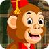 救援勤劳的猴子