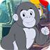 救援温和的大猩猩