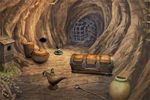 逃离神秘的矿洞