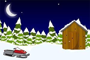 逃离雪地小草屋