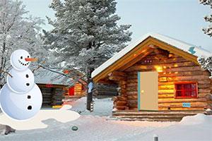 逃离冬季圣诞小屋