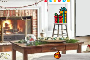 逃离漂亮圣诞屋