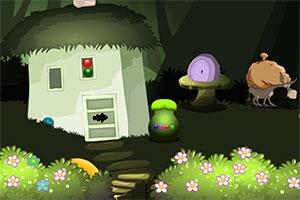 兔子逃出森林小屋