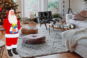 寻孩子的圣诞礼物