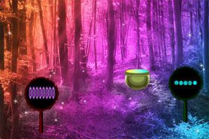 神秘夜之林逃脱
